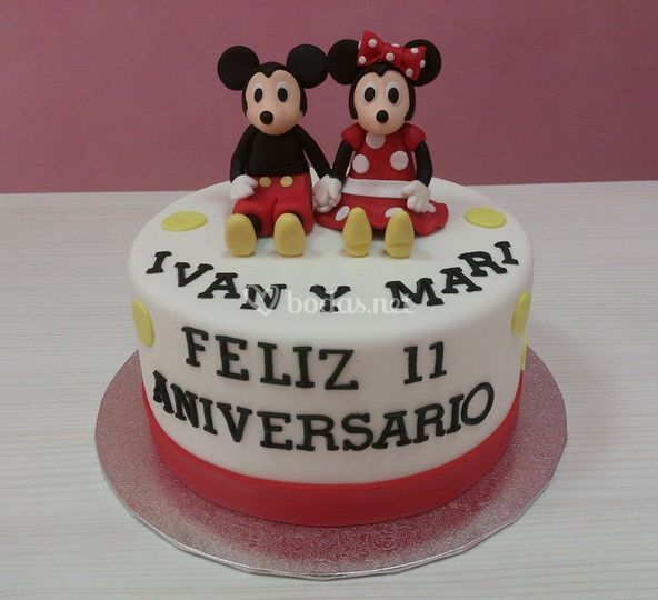 Micky Mouse y Minnie