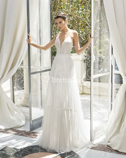 Rosa Clará Couture Collection 2019 - 31260 Memphis de Rosa Clará ... aea5d415c23