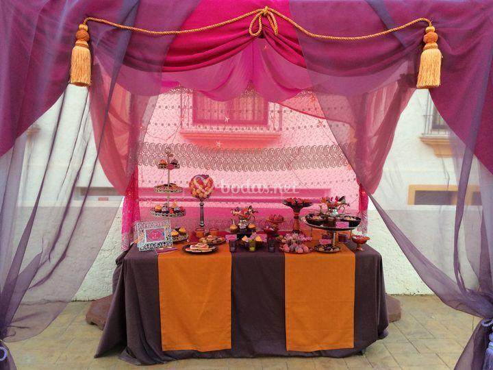 Mesa dulce Marruecos