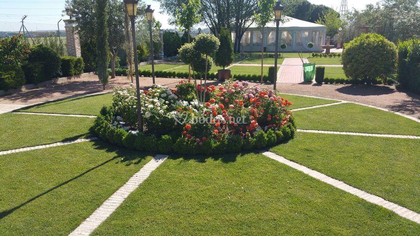 Finca los rosales de cubas for Jardin los rosales