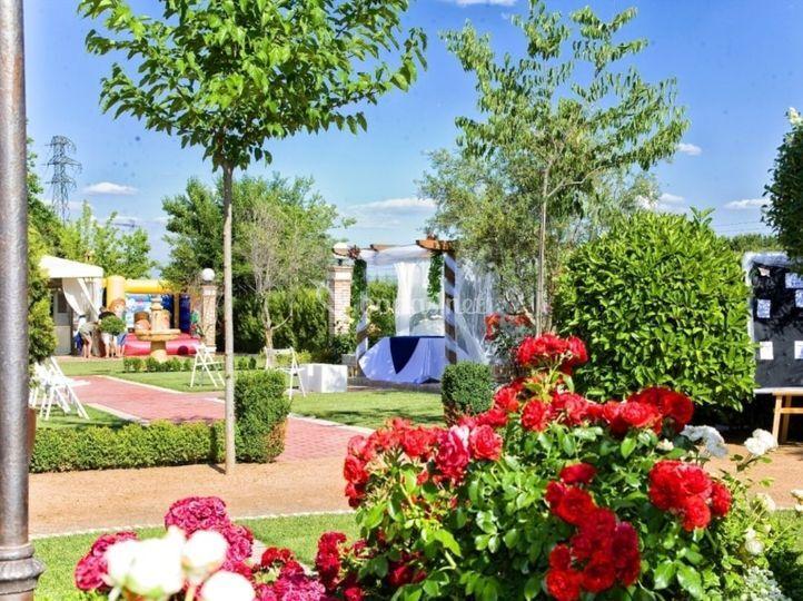 Jardines de finca los rosales de cubas foto 67 for Jardin los rosales