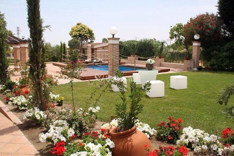 Jardines de finca los rosales de cubas foto 15 for Jardin los rosales