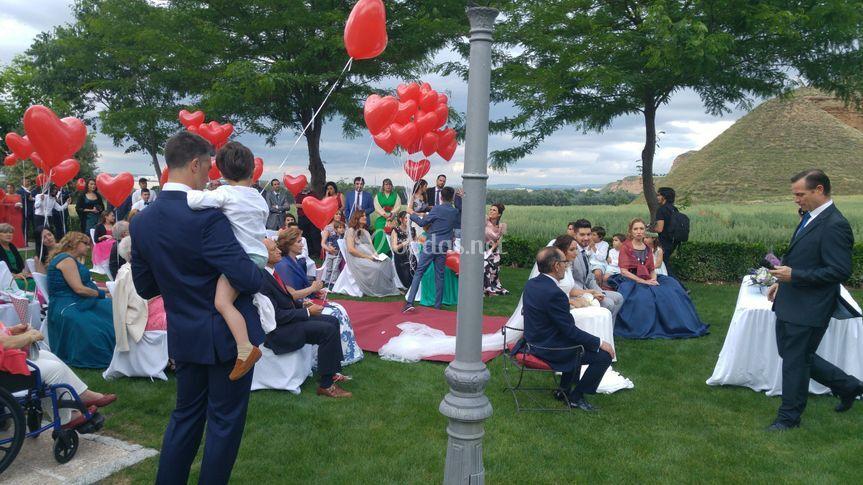Ceremonia corazones