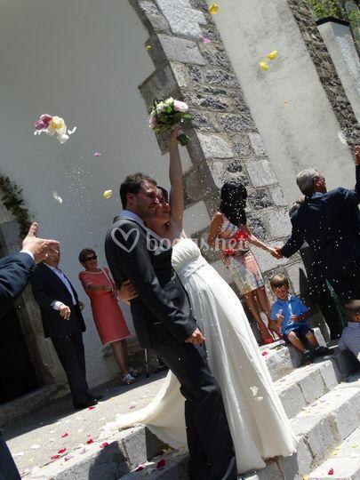 Salida ceremonia