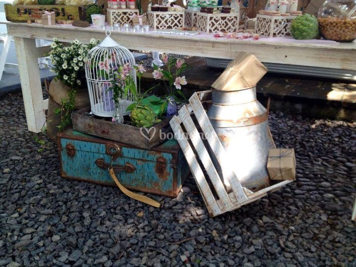 Decoraci n del jard n de dulce evento fotos for Decoracion jardin granada