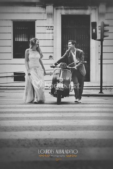 Reportaje de boda estilo urban
