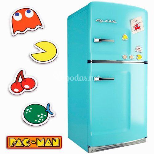 Imanes Pac-Man