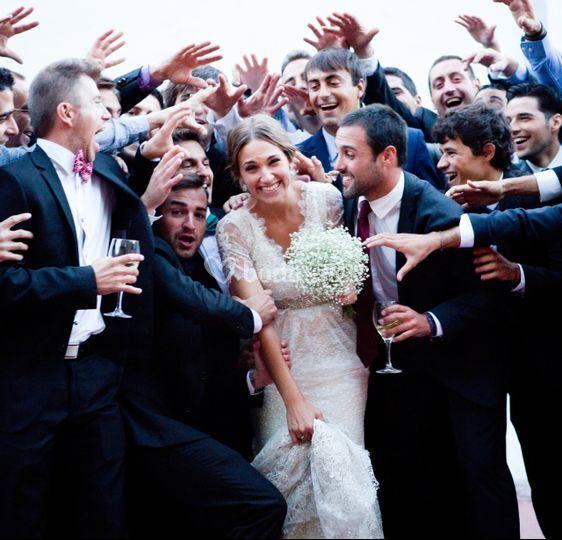 Los amigos de la novia