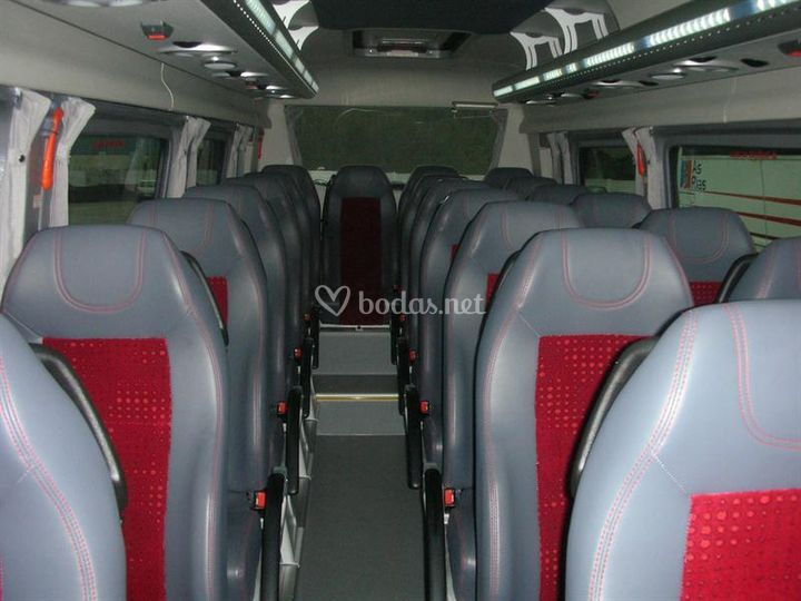 Interior microbus