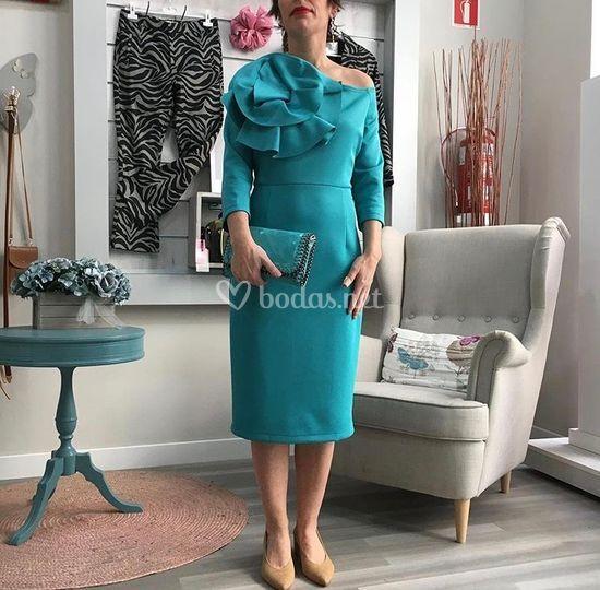 Look vestido de cóctel