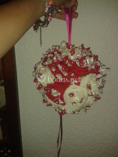 Bouquet redondo con calas