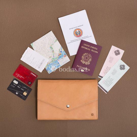 Porta-documentos de viaje
