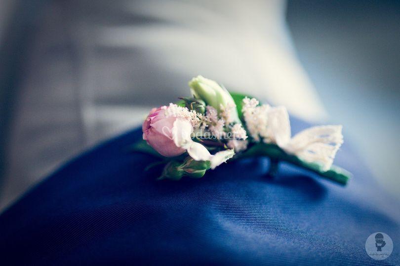 Flores para ojal