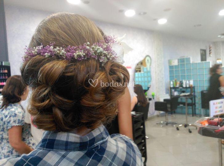 Peinado de Elena