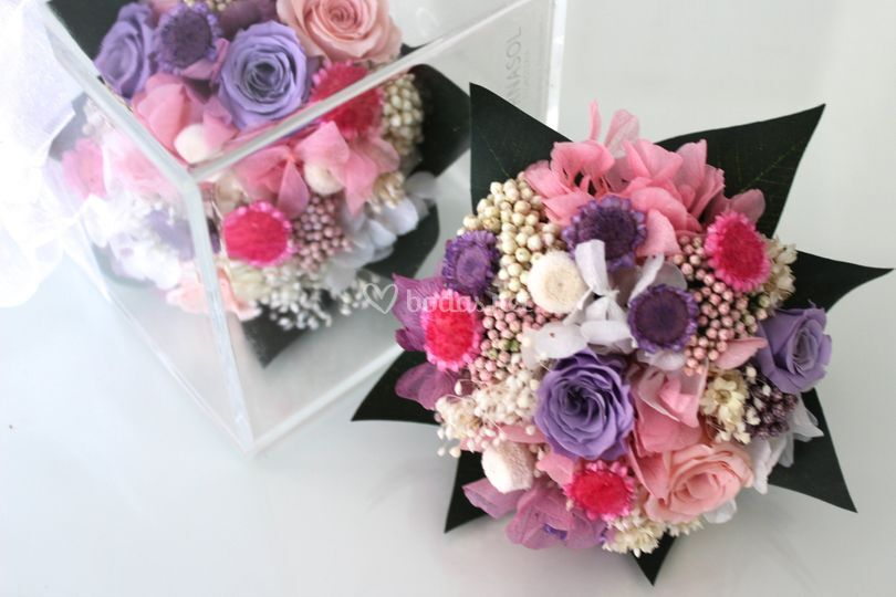 Réplica miniatura flor eterna