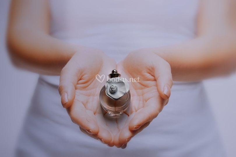 Mini perfumes de boda