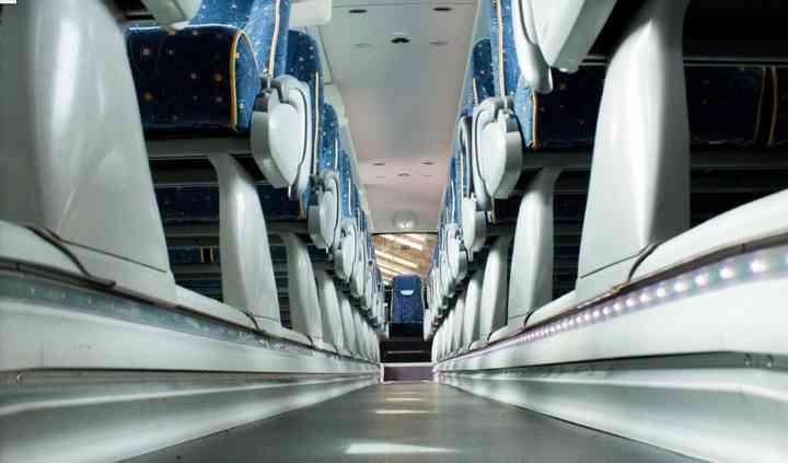 Interior de un autocar