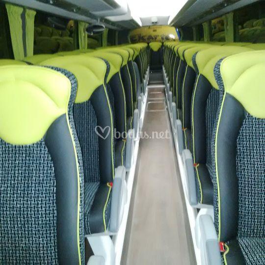 Interior autobús estándar
