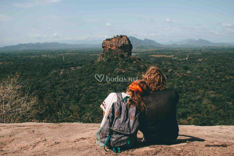 Roca Sigiriya en Sri Lanka