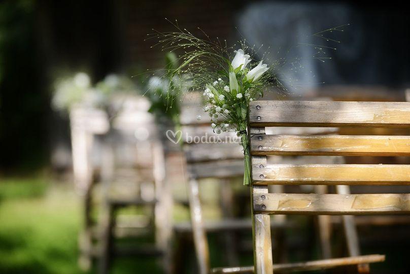 Jardín de boda
