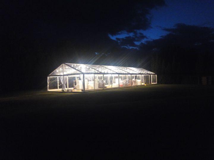 Un oasis de luz a pals
