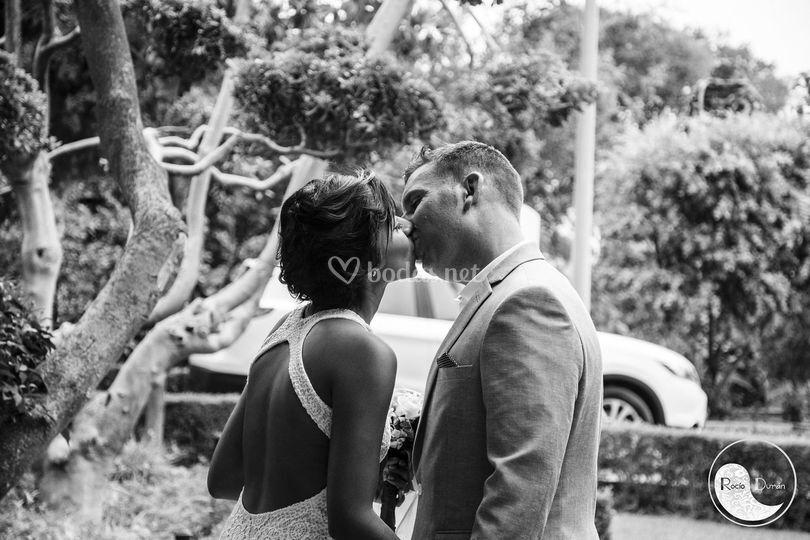 Precioso beso