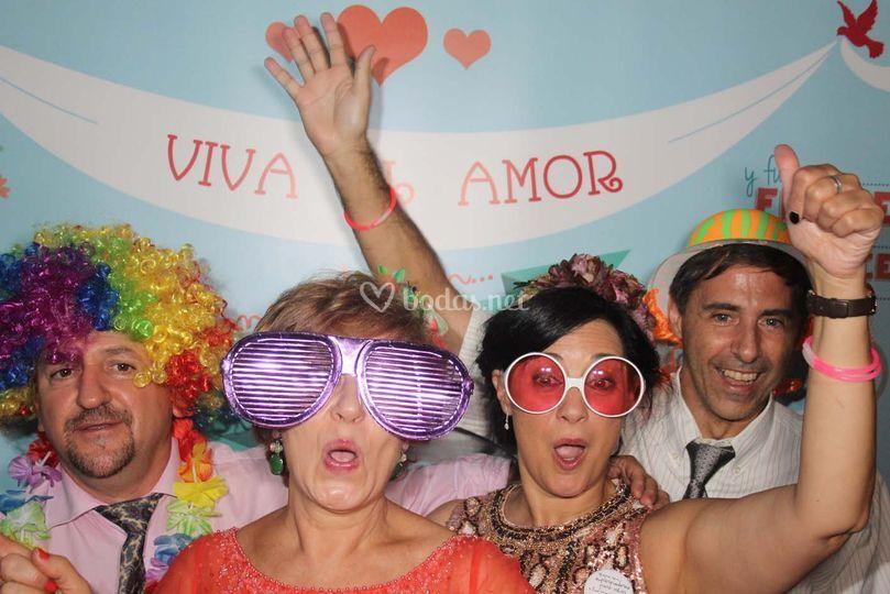 Photocall viva el amor