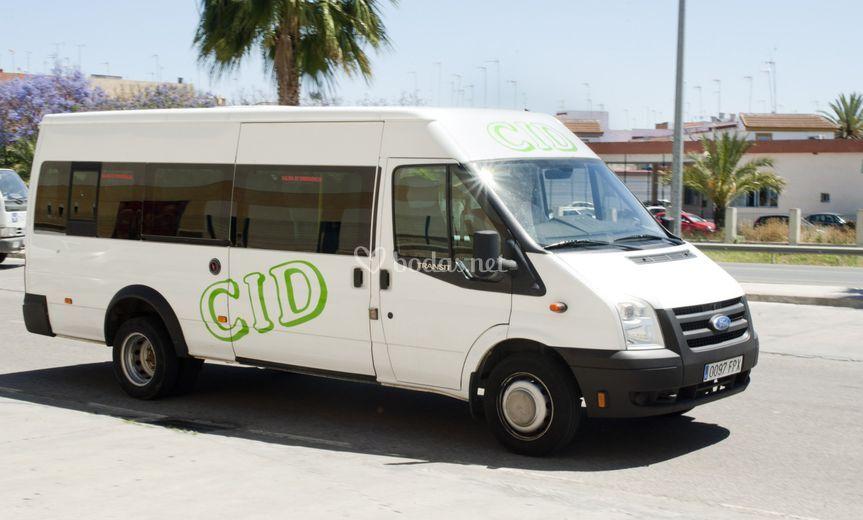 Autocar de 17 plazas