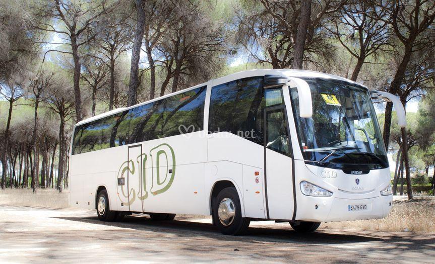Autocar de 60 plazas