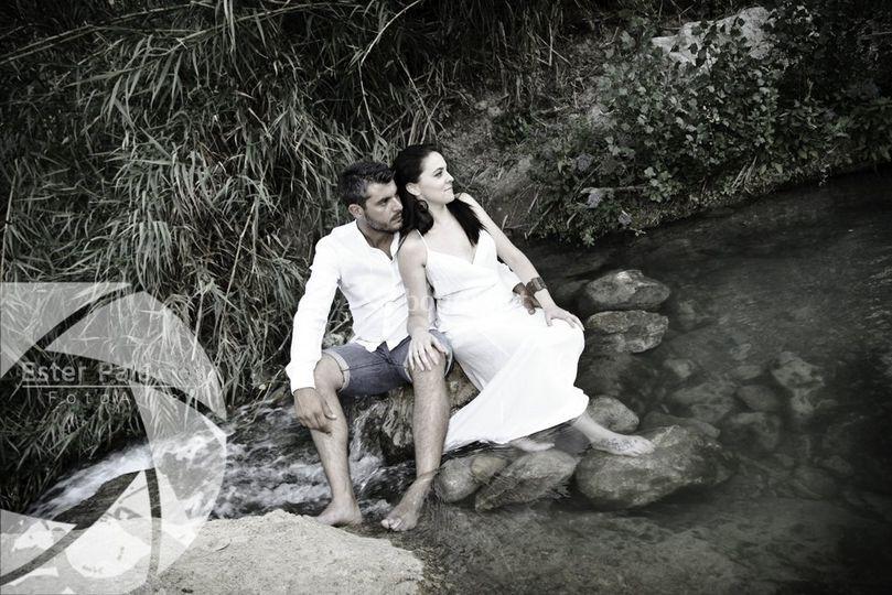 En un río