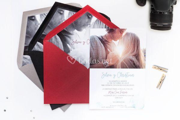 Invitación de boda 6