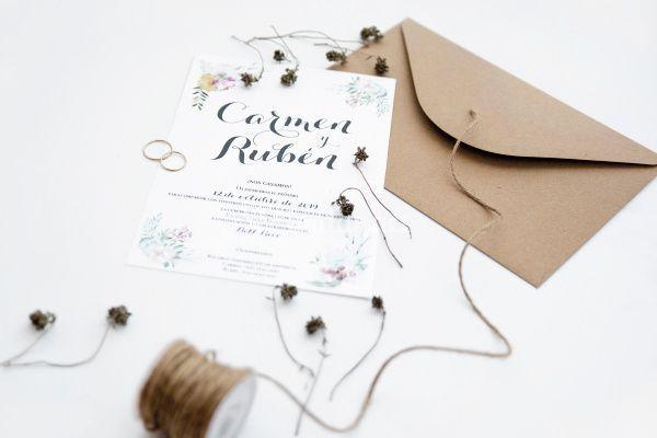 Invitación de boda 11