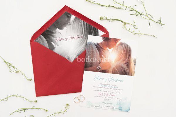 Invitación de boda 7
