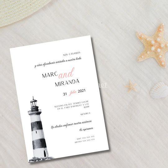 Invitación Faro