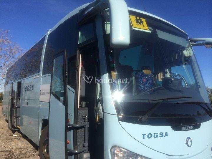 Autocar de la empresa Togsa