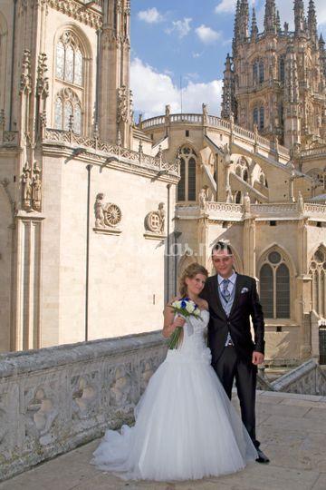 A los pies de la catedral