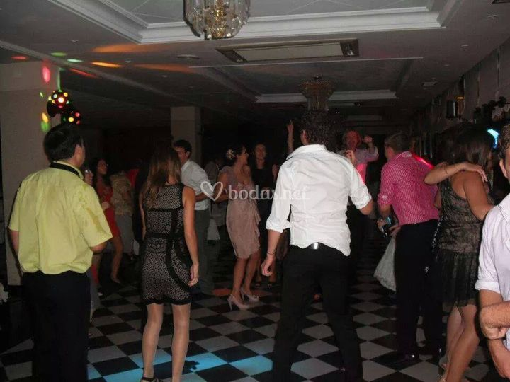 La pista de baile