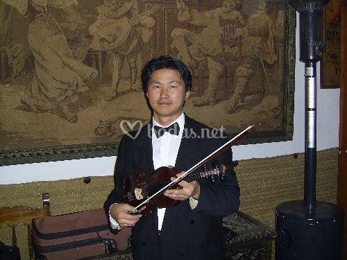Solista de violín AlexTsoi