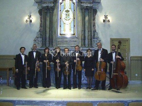 Camerata de 9 músicos