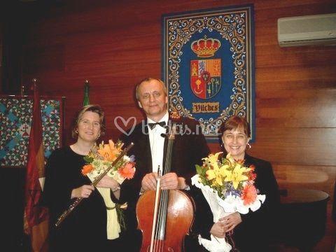 Flauta Piano y Violonchelo