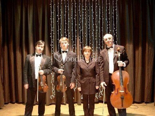 """Cuarteto de Cámara """"Rusia"""""""