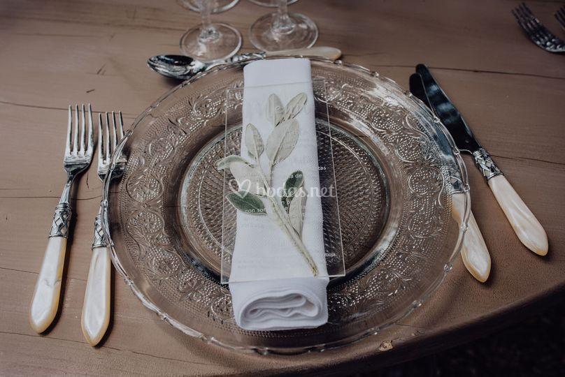 Servicio en mesa
