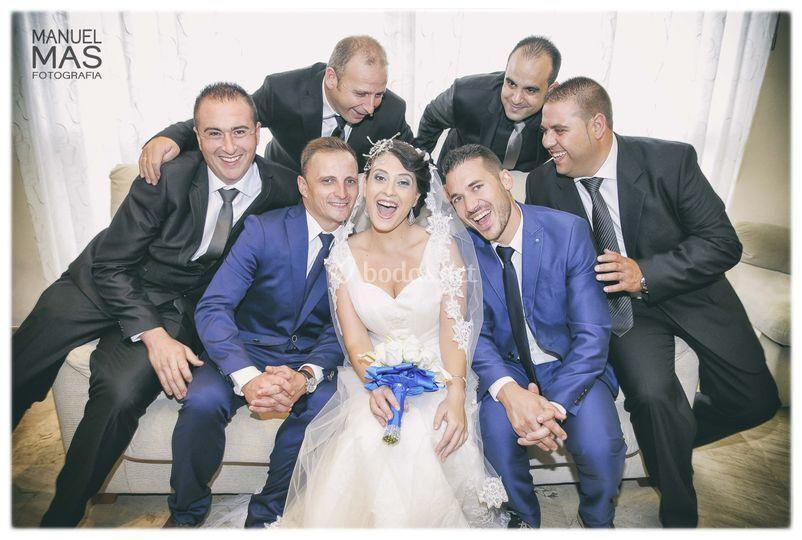 Amigos de la novia
