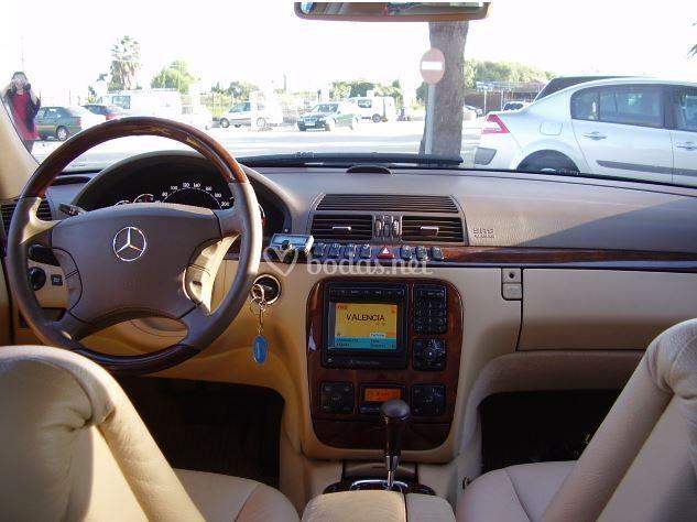 Mercedes s400 - interiores