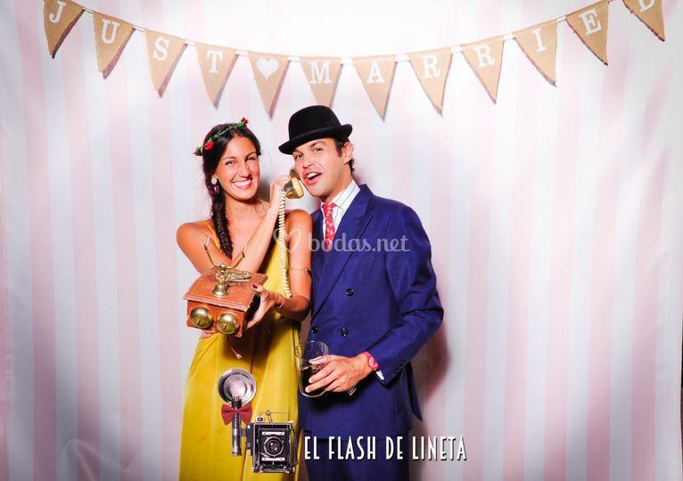 Fotomatón para bodas y eventos