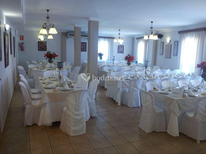 Salón Doñana 100 personas