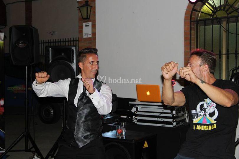 Bailando con el novio