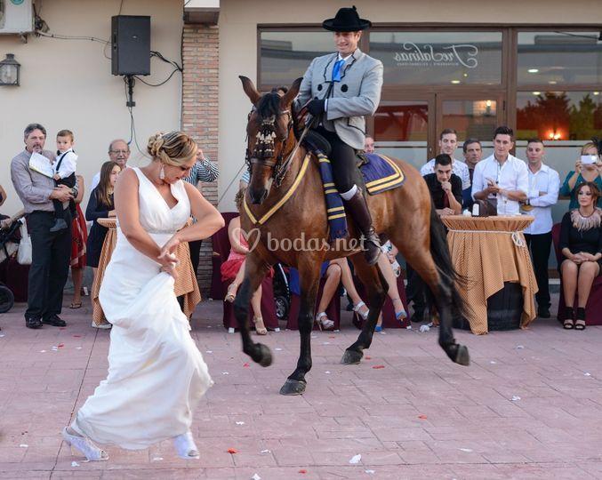 Momento de la boda