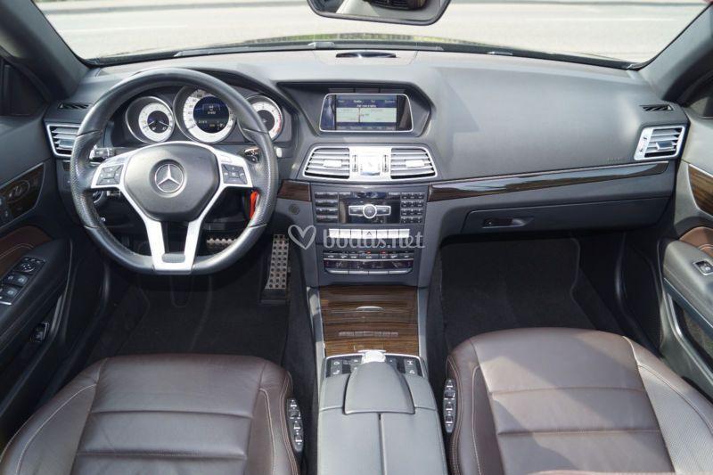 Interior mb-e cabrio