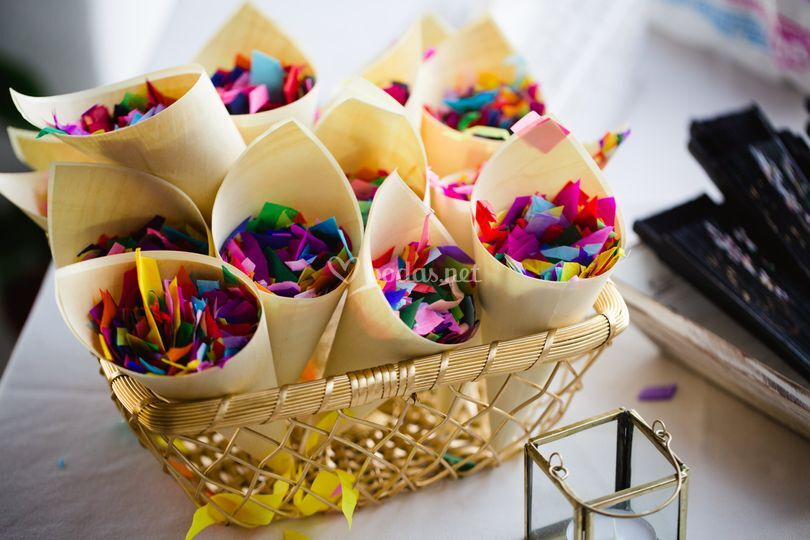 Buffet de confetti